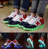 10 Hours Lighting를 가진 형식 LED N Sneaker Shoes