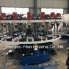 Automatische gezahnter Rohrschuh-obere dauernde bildenmaschine Plastikschuh-Einspritzung-Maschine
