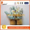 Перчатка садовничать цветка Ddsafety 2017 с PVC поставила точки на ладони