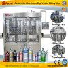 Licor automático que aclara la máquina que capsula de relleno
