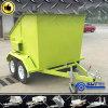 重い回転新しい来る移動式スキップの大箱のトレーラー(SWT-BT4)