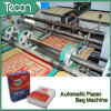 Válvula pegada la maquina para fabricar bolsas de papel de pared múltiple
