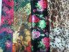 Pas de MOQ Kimono robe numérique personnalisé imprimé de polyester Tissu de soie