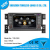 2 DIN DVD de voiture pour Suzuki Vitara 2008 GPS intégré A8 Chipset RDS Bt 3G/WiFi DSP Radio 20 Dics Momery (TID-C053)