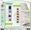 ドレッシングルームのための単一行鋼線の網のロッカー