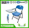 Universidade de formação de plástico dobrável cadeira com mesa de escrita (SF-38F)