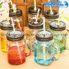 Trinkendes Flaschen-freies Glasmaurer-Glas mit Griff