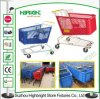 5 van Wielen van de Supermarkt van het Plastic duim Karretje van het Boodschappenwagentje