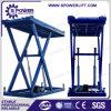Levage vertical électrique de véhicule de ciseaux de la Chine