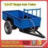 Tractor 15-30HP를 위한 중국 Mini Farm Trailer