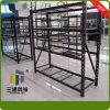 Support moyen de stockage de devoir, défilement ligne par ligne de stockage d'entrepôt