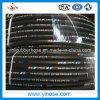 SAE100 R2à haute pression en caoutchouc flexible d'huile hydraulique