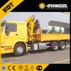 2017年のXcmc Sq2sk1q 2tonトラックによって取付けられるクレーン価格