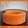 Boyau à haute pression flexible de jet de PVC de fils de polyesters