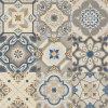 Azulejo esmaltado impresión española de la porcelana