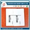 Cartão plástico em branco Printable do código de barras