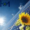 Panneau solaire en verre trempé de sécurité en verre feuilleté