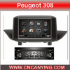 Coches reproductor de DVD para Peugeot 308 (CY-3080)