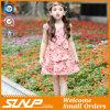 Qualitäts-Mädchen-Blumen-Kleid-Sleeveless Kind-Fußleiste