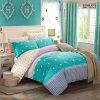 Textiel Katoenen van 100% Beddegoed Van uitstekende kwaliteit dat voor Huis/Hotel (het Blauw van Tiffany) wordt geplaatst