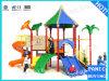 Playground tobogán espiral de plástico de TP-090