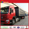 Transport-Ladung-Waren drei Wellen, die schwerer LKW-Schlussteil spitzen