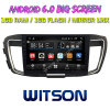 Witson gran pantalla de 10,2 de Android 6.0 alquiler de DVD para las generaciones de Honda Accord con alta y baja 9