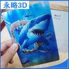 Изготовленный на заказ оптовая открытка 3D печатание карточки 3D приглашения линзовидная для украшений