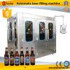 Máquina que capsula de relleno de la cerveza