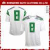De modieuze Naar maat gemaakte Witte Goedkope Uniformen van de Voetbal (eltfji-67)