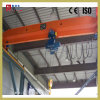 Atelier avec poutre unique pont roulant 5 tonne d'un palan