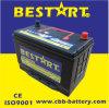 Alta qualità Vehicle Battery Accumulator 80ah 12V Car Battery Nx120-7-Mf