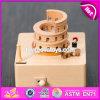 Modificar el rectángulo de música para requisitos particulares de madera de las muchachas de los regalos de la historieta W07b050