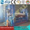Máquina de rolamento simétrica hidráulica da placa de três rolos Mclw11nc-50*3500, máquina de dobra