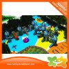 Скольжение оборудования спортивной площадки замока игры детей напольное пластичное для сбывания