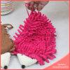 Перчатка чистки синеля домочадца животная головная