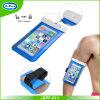 Bolso/caja impermeables del teléfono celular del PVC de los accesorios del teléfono móvil con el acollador/la bolsa impermeable luminosa para el iPhone