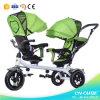 Le tricycle bon marché de bébé des prix de vente chaude jumelle le tricycle de bébé