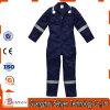 Combinaison de la marine 65%Polyester et 35%Cotton de bande de Rflective avec de longues chemises