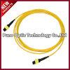 12 Fibres Singlemode MTP Trunk Fiber Optic Cable Jaqueta Amarela