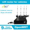 Sustentação 3G 4G do router de WiFi do veículo com ranhura para cartão de SIM