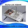 Профессиональная раковина кухни нержавеющей стали изготовления (KS8445)