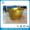 氷の容器のための旧式な金の粉のコーティングクロムのように公認証明される