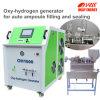 薬剤のアンプルの自動詰物およびシーリング水素ガスの発電機