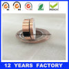 Qualidade elevada 0,09mm de lado único cola de silicone fita de tiras de cobre