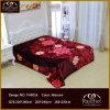 Couverture de vison de la qualité 100% douce superbe de type de polyester de maneton coréen de Raschel