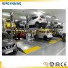 Levage automatique de stationnement de 2 étages, levage hydraulique de stationnement de véhicule de poste 2