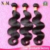 Unprocessed 5A Extensão de cabelo brasileira 100% Weave de cabelo humano (QB-BVRH-BW)