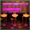 LED acenda Tabelas Cocktail Bar Alta Tabelas Superior