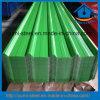 건축재료 색깔 물결 모양 강철 지붕 또는 벽 클래딩 금속 장